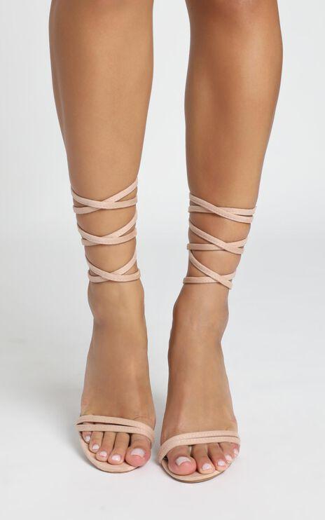 Billini - Tessa Heels In Blush Micro