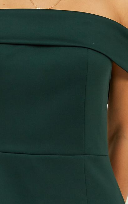 We Got This Feeling Dress in emerald - 20 (XXXXL), Green, hi-res image number null