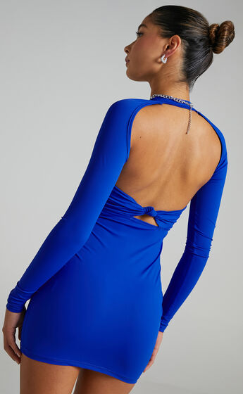 Lioness - Miracle Mile Dress in Royal Blue