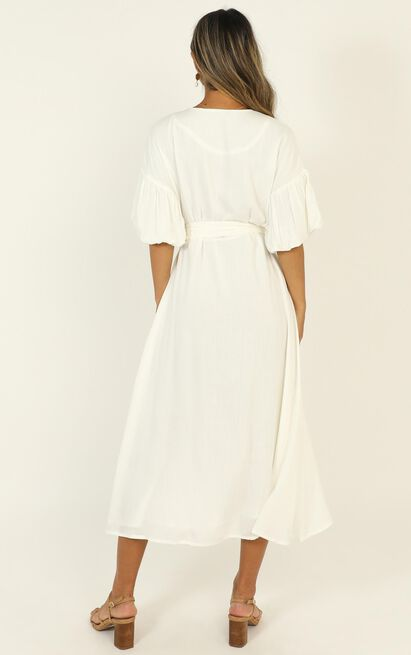 Corina Maxi Dress in white - 14 (XL), White, hi-res image number null
