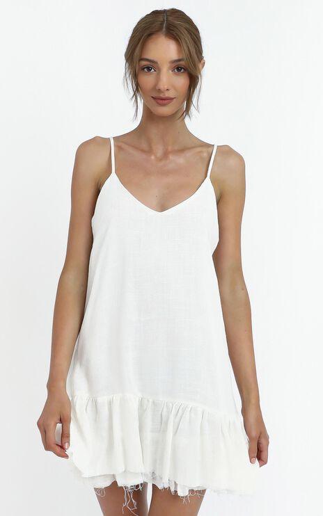 Gypsy Dress in White