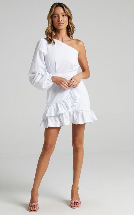 Udele Dress in White