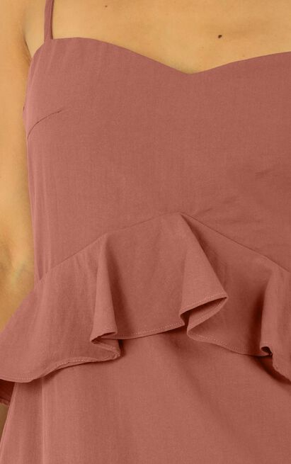 Tuesday blues dress in dusty rose - 20 (XXXXL), Pink, hi-res image number null