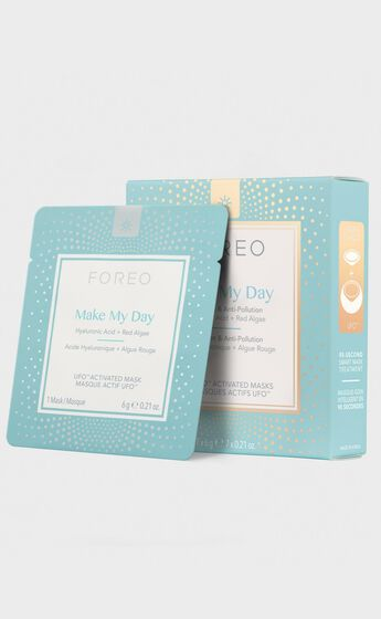 Foreo - UFO Mask Make My Day - Pack of 7 in Blue