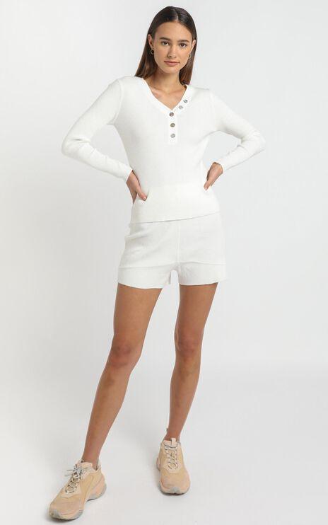 Elija Jumper in White