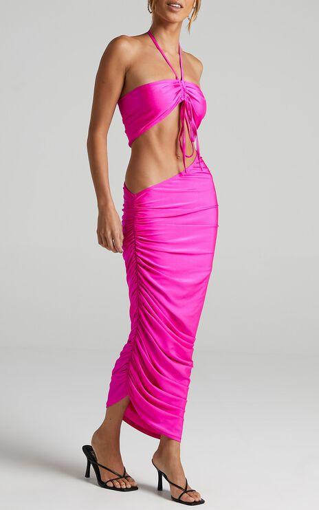 Lioness - Monaco Midi Skirt in Pink