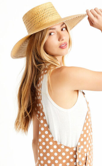 Brixton - Prairie Sun Hat in Natural