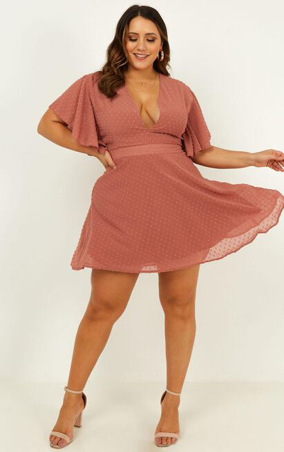 One Sweet Day Dress in dusty rose - 18 (XXXL), Pink, hi-res image number null