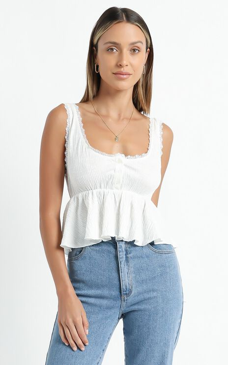 Valma Top in White