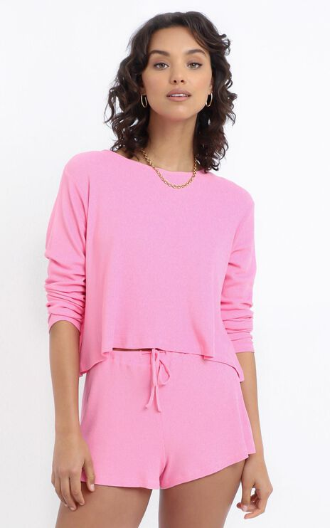 Kallan Shorts in Pink