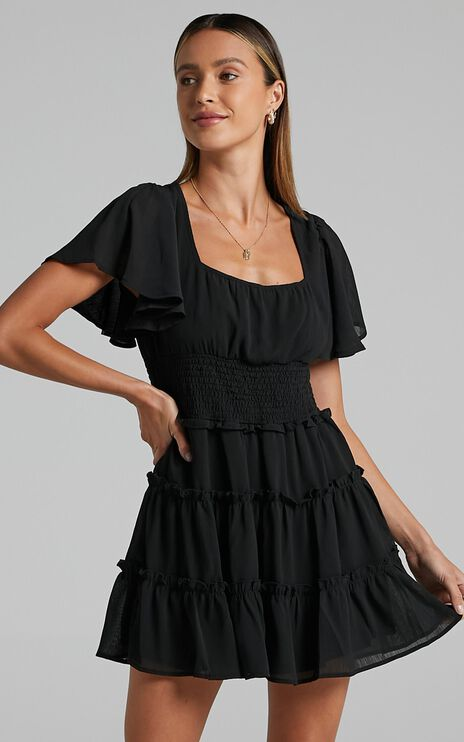 Kelsey Dress in Black