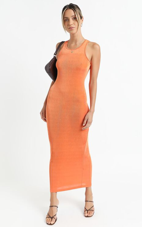 Lioness - Everlast Dress in Orange