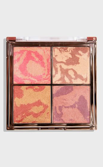 MCoBeauty - The Beauty Edit Highlight & Glow Quad in Multi