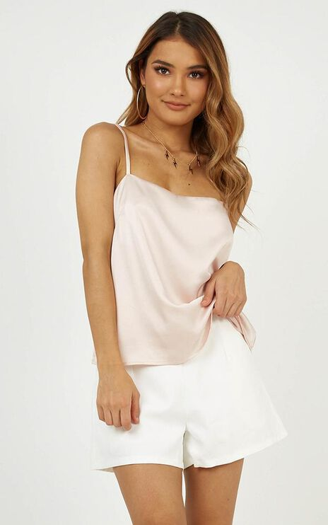 Sooner Or Later Top in Champagne