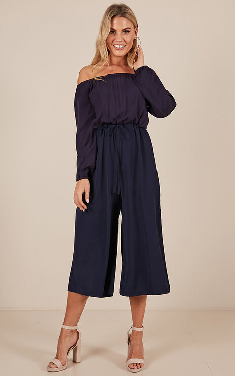 Master Of Disguise Jumpsuit In Navy