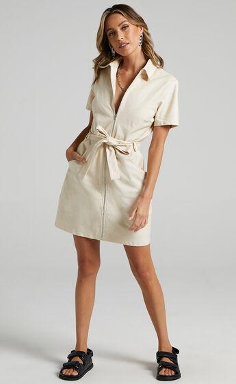 Ceres Dress in Beige