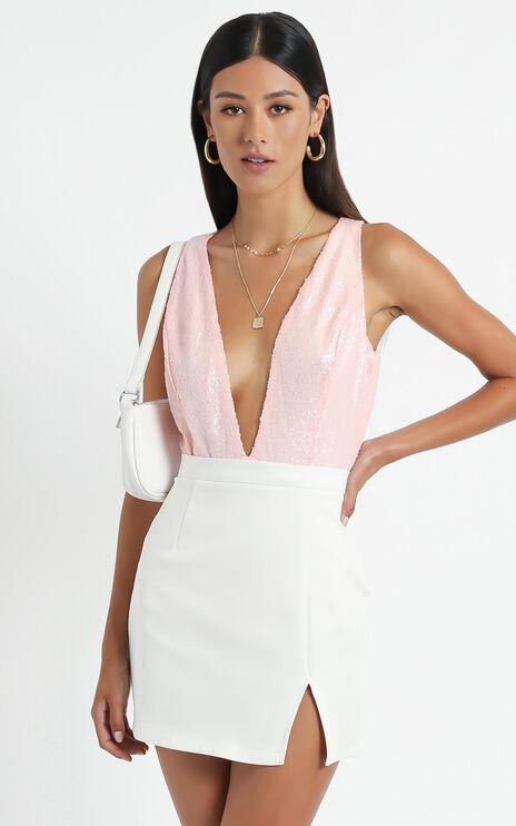 Mina Bodysuit in Pink