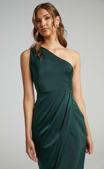 Felt So Happy Dress in Emerald
