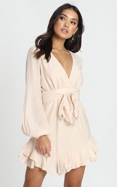 Blaise Dress In Beige