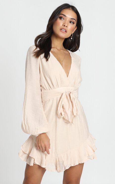 Blaise Dress In Beige