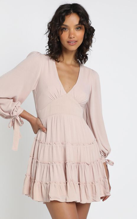 Elliot Dress in Blush