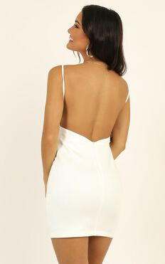 Here In Paradise Dress In White