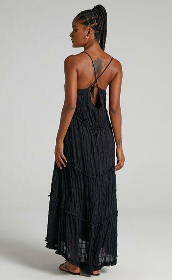 Coastal Breeze Dress in Black
