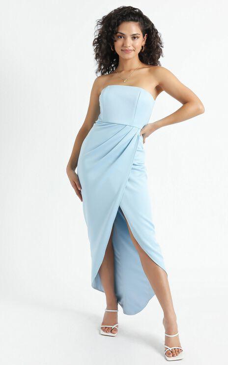 Already Home Dress in Light Blue