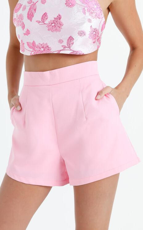 Along The Ride Shorts in Soft Pink