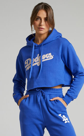 Majestic - Chop Woodmark LA Dodgers Hoody in Dazzling Blue