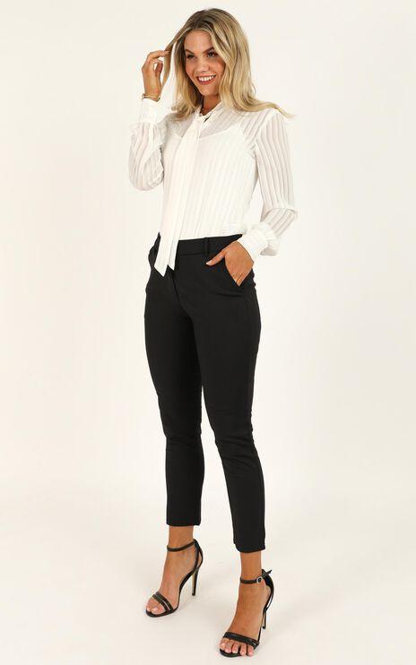 Overtime Pants In Black