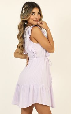 Angelic Eyes Dress In Lilac