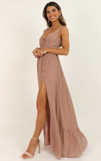 Im gonna live like tomorrow doesnt exist dress In dusty rose - 20 (XXXXL), Pink, hi-res image number null