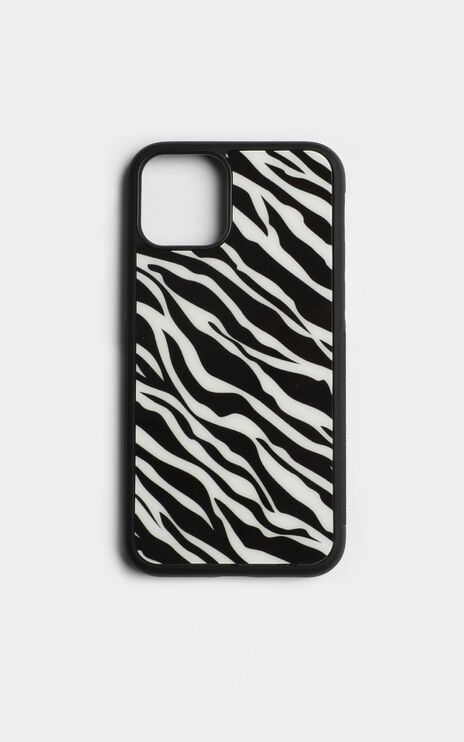 Zebra iPhone Case In Black And White
