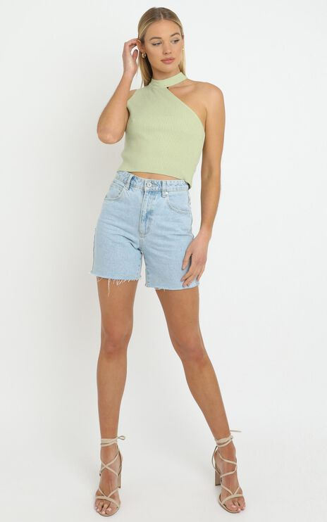 Darcie Knit top in Sage