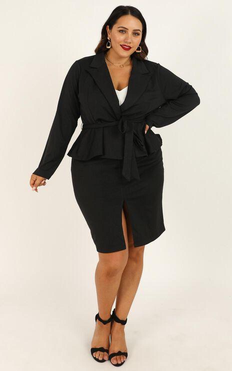 Strong Minded Blazer In Black