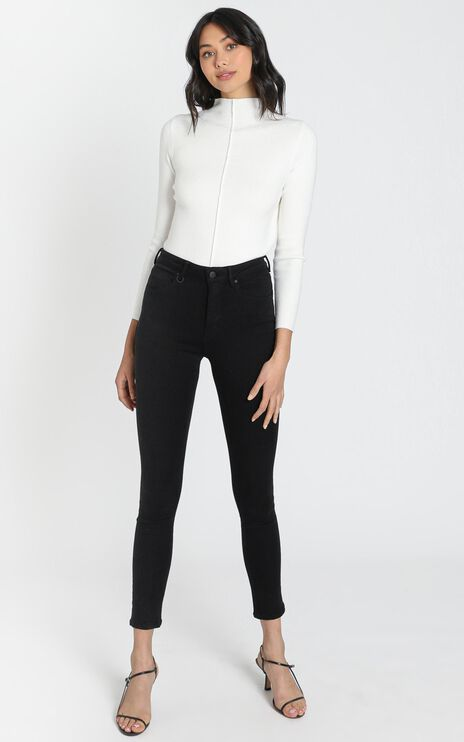 Neuw - Smith Skinny Jeans in Night Black