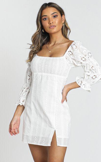 Viv Dress in cream - 8 (S), Cream, hi-res image number null