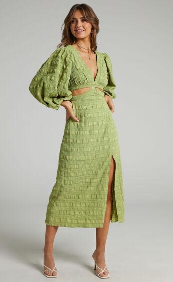Tabatha Dress in Green Check