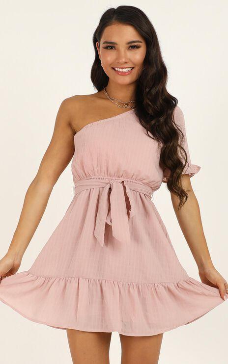 Summertime Beauty Dress in Blush