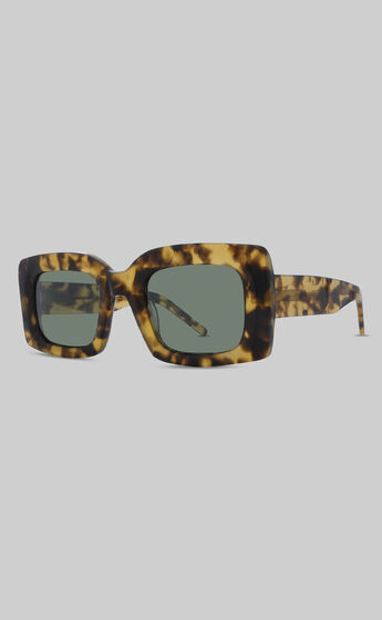 BANBE EYEWEAR - THE KENDALL in TORT-GREEN