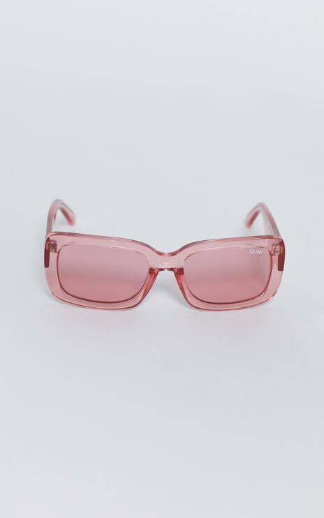 Quay - Yada Yada Sunglasses in Coral / Coral