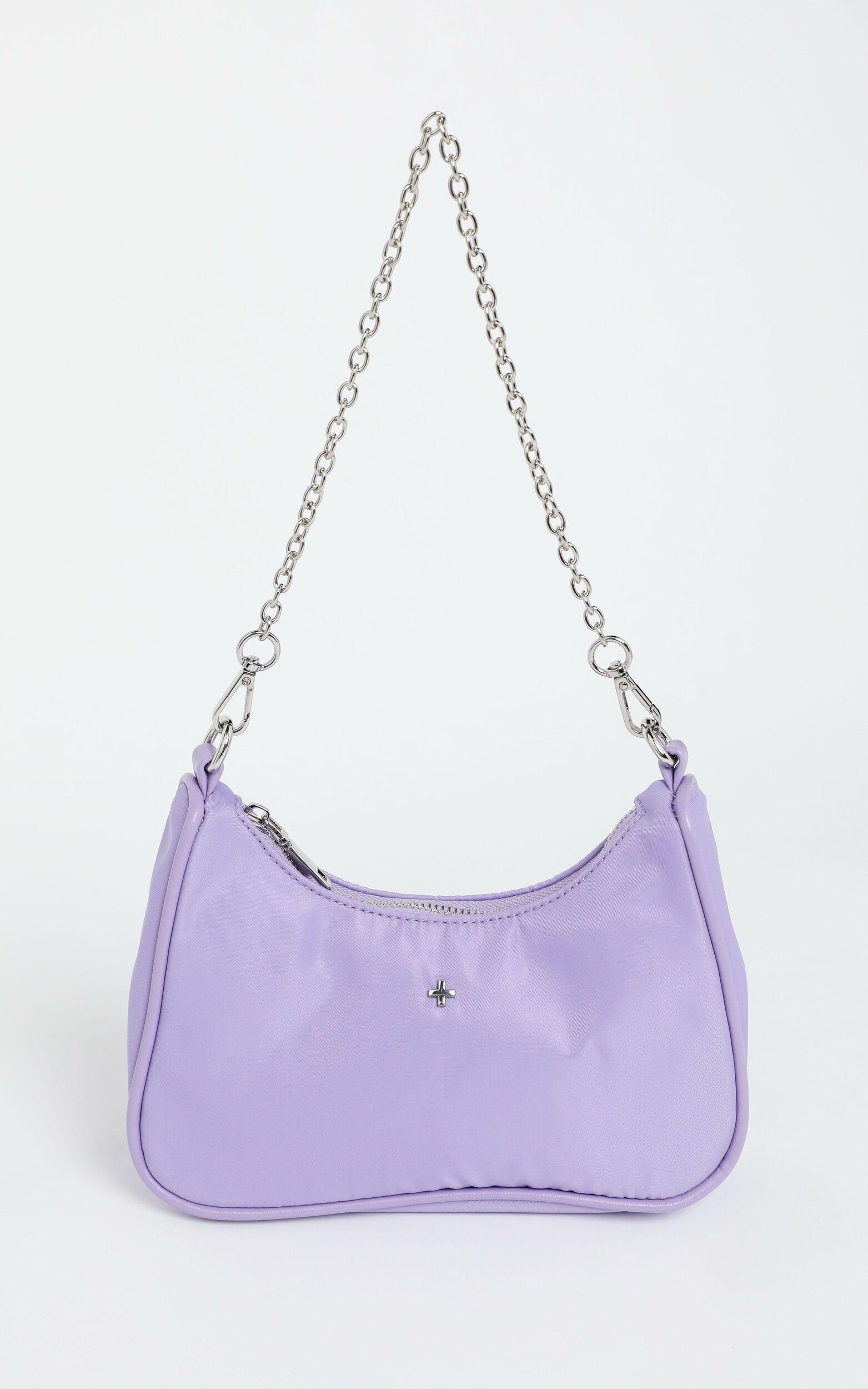 Peta and Jain - Paloma Bag in Lilac Nylon, Purple, super-hi-res image number null