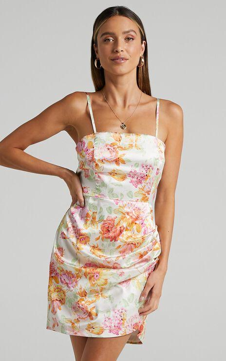 Elbereth Dress in Romantic Floral