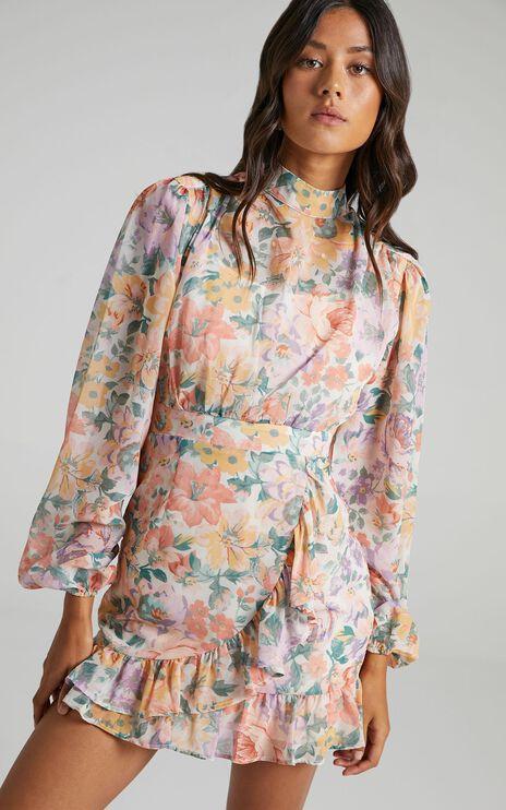 Tiahna Dress in Flower Crown