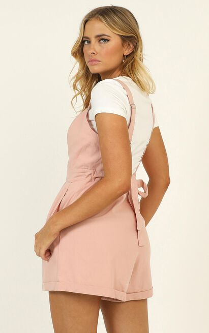 You Have My Heart Playsuit in blush - 12 (L), Blush, hi-res image number null