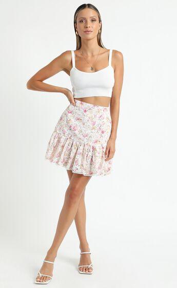 Minkpink - Mandalay Mini Skirt in Multi