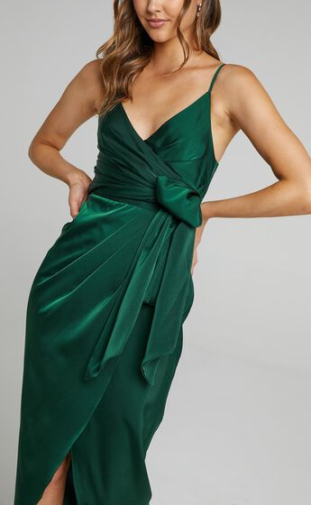 How Will I Know Dress in Emerald