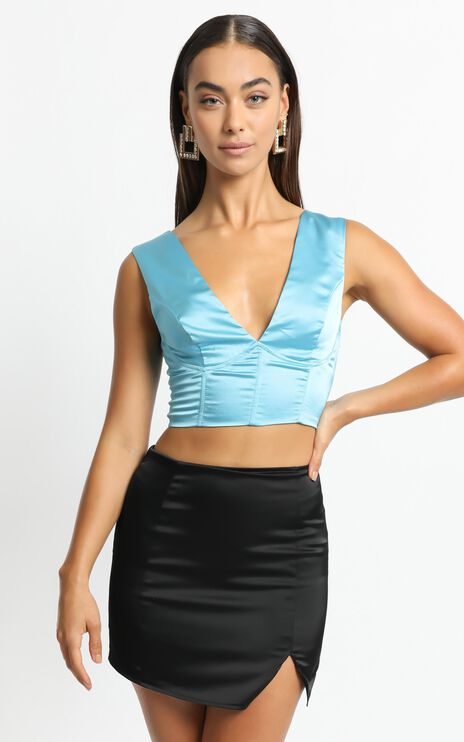 Saliha Top in Blue