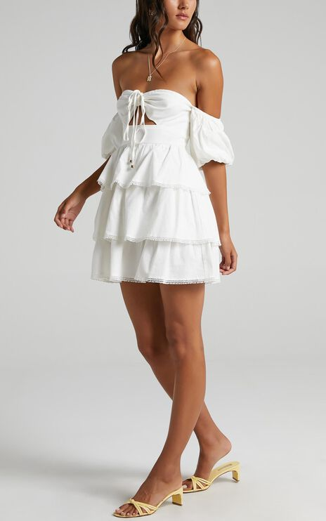 Gilmore Dress in White